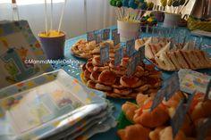 La festa per il primo compleanno di Edoardo: i preparativi passo passo, la creazione degli allestimenti, le ricette per una festa di compleanno fai da te.