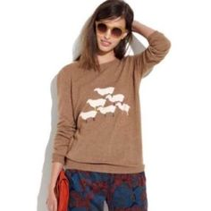 Wallace Madewell Sheep Sweater (M)