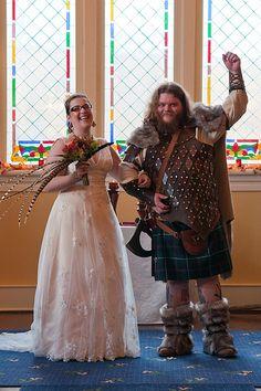 Ann Sean S Comic Book Dork Wedding Of Awesomeness