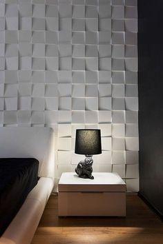 Bom dia gente linda!!! Como estão, tudo na paz \O/?? Hoje vamos falar sobre paredes com textura de gesso 3D… Você já conhece…vamos aprender a fazer a forma?? Fonte:lorenaarquiteta.blog…