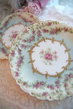 Limoges France floral plate