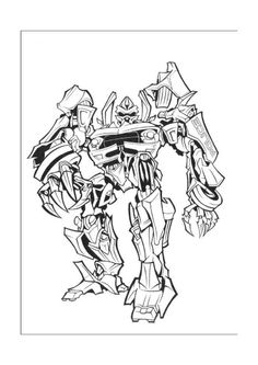 transformer coloring pages for kids transformers birthday
