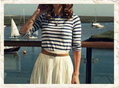 I am deeply in love with nautical style