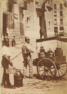 Vendedor ambulante de horchata,1870