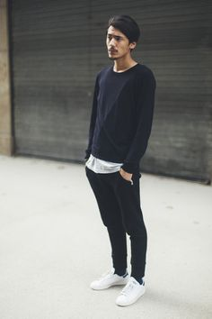 basics // menswear, mens style, fashion, navy, sneakers, haircut, hair style cut