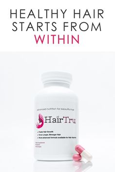 Our Natural Hair Growth Vitamins nourish thinning hair and promote existing hair growth from within. Start growing long and healthy hair today!