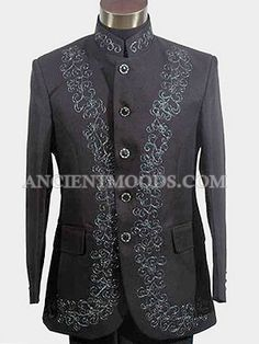 Western Style Men Formal Suit Jacket with pants. Men's (Prom Date / Cosplay costume) This jacket buttons was changed, contact us first before place the order Size S:Jacket Length:74cm,Sleeves Length:58cm,Shoulder Width:46cm,Jacket Chest:100,Pants Length:100cm,Waist:78-92cm Size M:Jacket Length:74cm,Sleeves Length:60cm,Shoulder Width:48cm,Jacket Chest:108,Pants Length:102cm,Waist:90-102cm