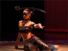 "Irina Akulenko - ""Justice"" from ""Tarot - Fantasy Belly Dance"" DVD - Worl..."
