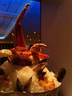 Seafood Tower - Oceanaire (San Diego, CA)