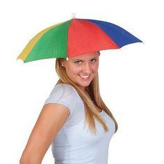 Chapeau parapluie pour tête – Enfants & adultes Parasol vacances, pêche, golf…: Ce chapeau parapluie, léger et très pratique est conçu pour…