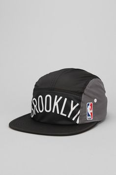 Mitchell & Ness Brooklyn Nets Worldmark 5-Panel Hat