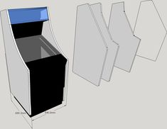 Diy Arcade Cabinet, Video Games, Projects To Try, How To Plan, Retro, Videogames, Wood Games, Video Game, Retro Illustration