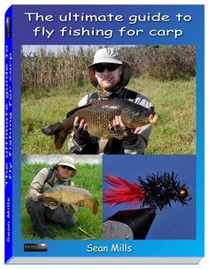 A selection of Sean Mills books on fly fishing for carp and bass in South Africa Fly Fishing For Carp, Fly Fishing Books, Pike Fishing, Fishing Rigs, Fishing Knots, Flying Ants, Drop Shot Rig, Freshwater Fish, Fly Tying