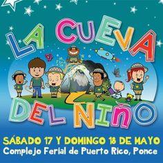 LA CUEVA DEL NIÑO sábado 17 y domingo 18 de mayo en el Complejo Ferial de Puerto Rico en Ponce: Inflables, Rock Climing, Montaña Rusa, Zippline, Maquinas de feria, Video Juego, Laser Tag, Hamster Ball, Pelota, Baloncesto, Soccer, Lego Gigante, Angry Birds, Juegos Feria...http://goo.gl/yMb3tb  #familia #ponce #ticketpop