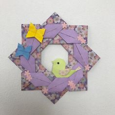 春の飾りに。折り紙の「ことり」 | 創作折り紙 カミキィ