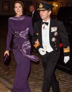 On January 29, 2016, Queen Margrethe of Denmark hosted a gala dinner for naval officers at the Fredensborg Palace in Copenhagen. Rear Admiral of the Navy, Crown Prince Frederik and Crown Princess Mary of Denmark attended the gala dinner with high-ranking officers at the Fredensborg Palace.