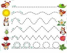 Pre K Activities, Printable Activities For Kids, Toddler Learning Activities, Educational Games For Kids, Preschool Homework, Preschool Writing, Free Preschool, Nursery Worksheets, Art Worksheets