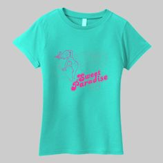 Paradise surf design Women's T-Shirt