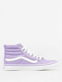 Boty Vans Sk8 Hi Slim (lavender true white) Skateboard 929b4d43a6