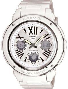 Casio Baby G Shock White Analog Digital Dial Women's Watch - BGA152-7B1 Casio. Save 7 Off!. $111.88