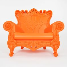 Plastic French-style furniture! Wouldn't they be funny on a patio? I mean, on the terrace of your chateau.