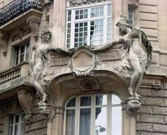 16 Rue d'Abbeville (10e) - Art Nouveau - Architecte : Georges Massa