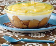 Jello Recipes, Greek Recipes, Dessert Recipes, Dessert Ideas, Lady Fingers Dessert, Fridge Cake, Fun Cooking, Summer Desserts, No Bake Cake