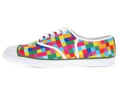 pixel sneakers for the groom!