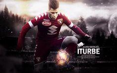 Scarica sfondi Juan Manuel Iturbe, il Torino FC, Calcio, Italia, Serie A
