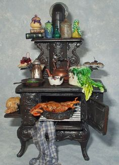 Ever seen a witch's kitchen?  This is how their stoves look. (not the real witches - the storybook ones..)  http://PatriciaPaulStudio.blogspot.com
