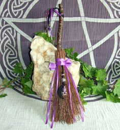 Hey, I found this really awesome Etsy listing at https://www.etsy.com/listing/197758961/witchs-cinnamon-broom-besom-with-silver