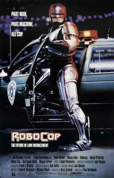 Robocop Man Machine Cop Movie Poster 11x17