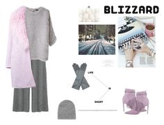 """""""Babt, it's cold"""" by anafest ❤ liked on Polyvore featuring 1205, Joseph, Elizabeth and James, AGNELLE, MANGO, Alexander McQueen, women's clothing, women, female and woman"""