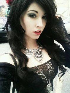 ༺♥༻ Dark Gothic Beauty ༺♥༻