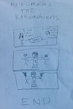 Disturbing kid's drawings are funny : theCHIVE