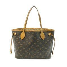 Louis Vuitton Neverfull PM Monogram Shoulder bags Brown Canvas M40155