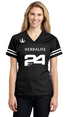 LST307 Women 24 Fit Herbalife Jersey Shirt by VinylGpxConceptsLLC, $25.99