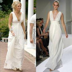 Gossip Girl Season 2, Girls Season 2, Season 2 Episode 1, Serena Van Der Woodsen, Girl Closet, Blake Lively, Winter White, Formal Dresses, Wedding Dresses