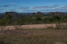 Parque das Guaritas visto da estrada