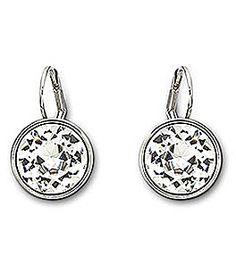 Swarovski Bella Earrings #Dillards  want these for my birthday!!