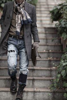 Bohemian style ideas for men (3)