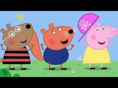 Peppa Pig - Head, Shoulders, Knees and Toes Repeats 10 times Abc Songs, Kids Songs, Peppa Videos, Peppa Pig Songs, Peppa Pig Full Episodes, Green Nail Art, Friend Cartoon, Big Friends, Animation