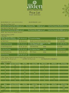 arihant arden greater noida west Price List