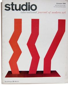 Title: Studio International Oct 1966 Sold  Designer: Unknown  240x307mm  Pages: 46  Publication:1966  Binding: Softback Magazine