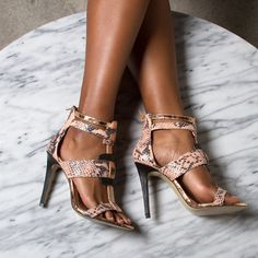 """Keep it luxe in the Chrisette sandals! """