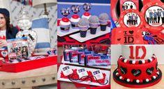 one direction birthday theme | Bookeventz | #birthday #boys #girls #theme #music #star #party