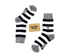 Small Leopard organic cotton, eco friendly black and white striped animal socks Ethical Clothing, Ethical Fashion, Amur Leopard, Sock Animals, Striped Socks, Fashion Articles, Minimalist Fashion, Minimalist Style, Fashion Group