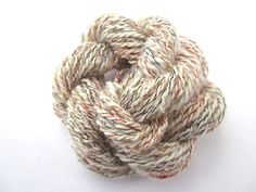 Unique Handspun 4ply Wool & Rayon Novelty Yarn for sale at https://www.etsy.com/listing/82803400/unique-handspun-4ply-wool-rayon-novelty