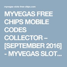 revelix myvegas free mobile chip codes