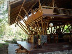 Bamboo House Costa Rica by Architect Mariela Garcia